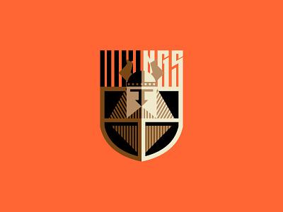 Vikings crossfit  gym vikings graphic design vector illustration logotype logosmyk logodesign design logofolio branding logo