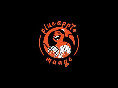 Pineapple&mango mango. mango. juice bar pineapplemango. juice bar graphic design vector ui illustration logotype logosmyk logodesign design logofolio branding logo