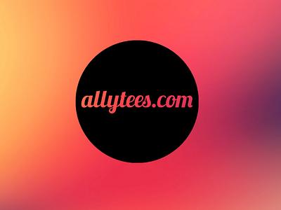 Allytees.com - TBT gradient logo brand throwback tbt