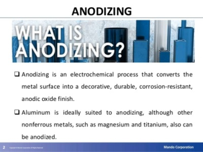 what is Anodizing anodic oxide anodized aluminum what is anodized aluminum anodising process