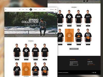 Harakat E-commerce ecommerce shop clean ui simple typography interface web flat e-commerce