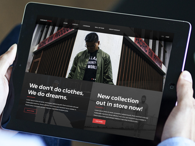 Harakat Store E-commerce •iPad ecommerce shop ui app ipad harakat simple clean branding flat