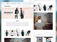 Branding page