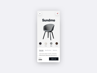 Furni - Product Page - E-commerce App - Part 3
