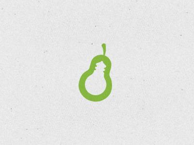 MakerPair pairing logo mark symbol pear pair branding light bulb idea 3d printing x studios