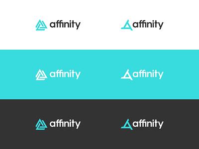 affinity rebrand redesign logo design identity brand identity simplicity logo affinity designer affinity