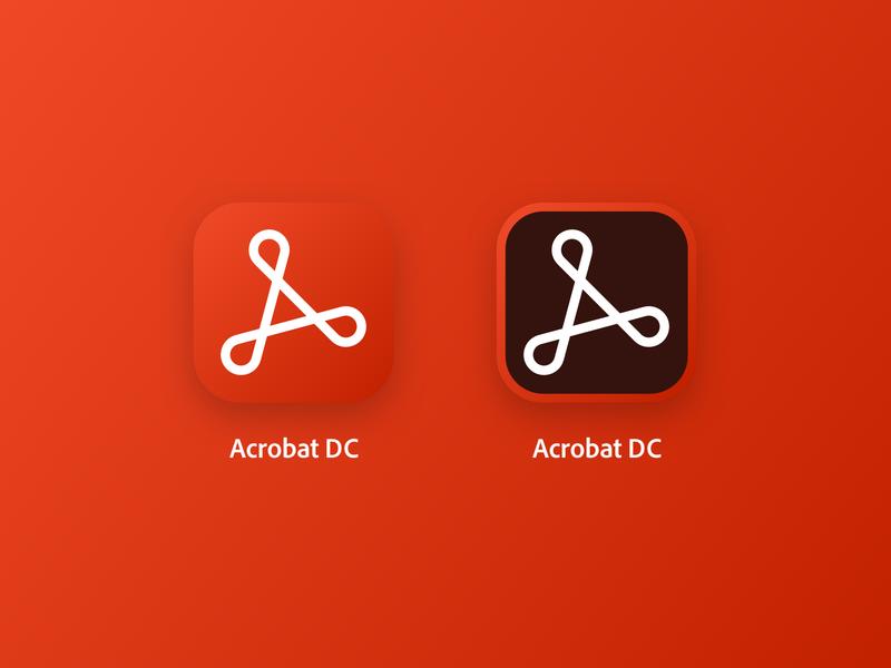 Acrobat acrobat dc software app icon icon adobe acrobat adobe