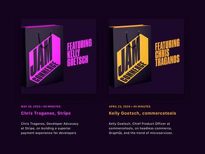 JAMcommerce Radio commercetools stripe ecommerce commerce podcast