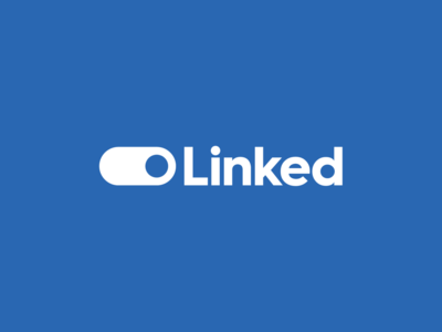Linked identity logo logo marque brand identity connected linked linkedin