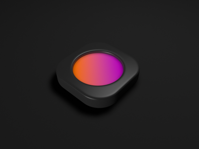 Icon Take 2 gradient app icon c4d icon