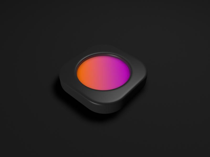 Icon Take 2 gradient app icon c4d icon