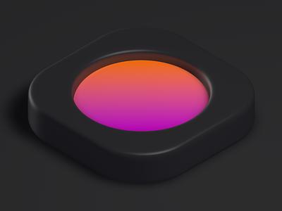 Vibe c4d 3d app icon icon