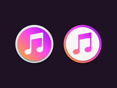 iToons gradient itunes apple icon app