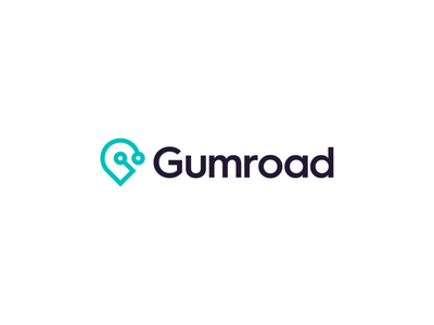 Gumroad brand identity identity logodesign logo platform g marketplace market gumroad grow digital creator creative network road journey