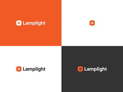 Lamplight lamp inspiration logo design brand identity identity logo light lamplight