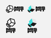 MISFIT branding logo no win nada nope square peg round hole misfit