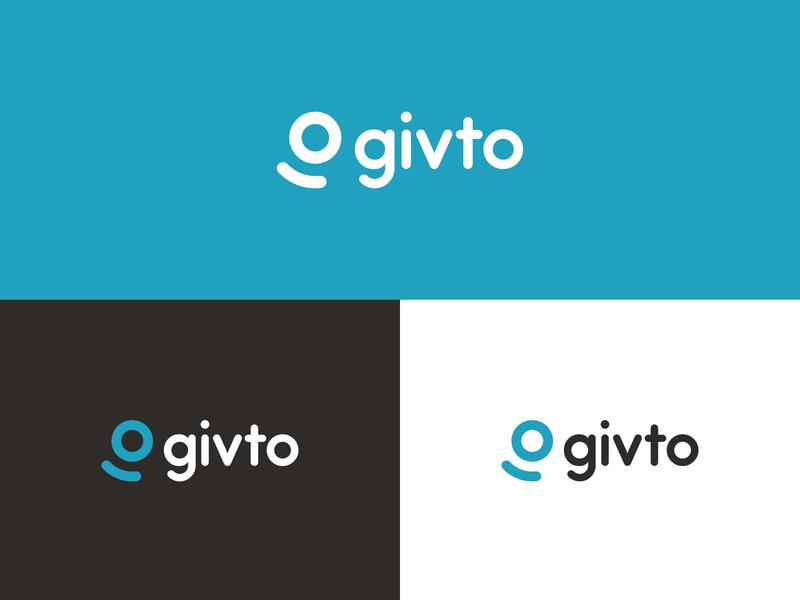 givto brand identity identity money logo direct debit giving donations charity