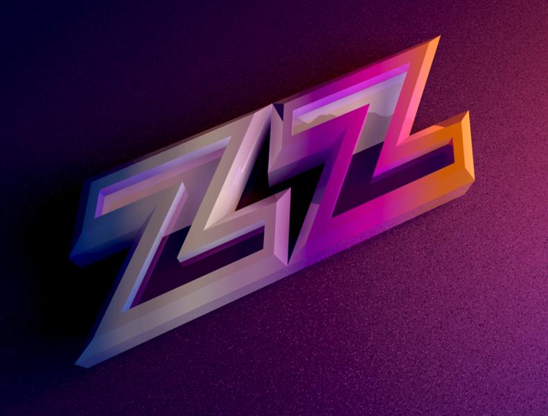 ZZZZ Progress neon c4d 3d