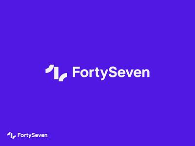 FortySeven forty seven brand identity logo mark identity logo