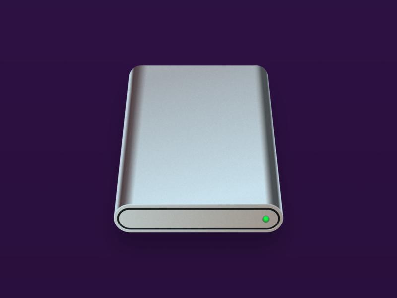 iOS Removable Volume Icon iconography icon big sur ios