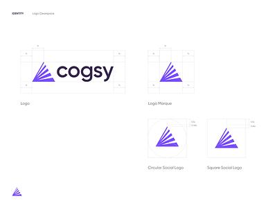 Cogsy brand ux ui website design typography shopify brand identity identity logo