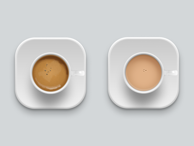 One lump or two iconography figma icon icons coffee tea