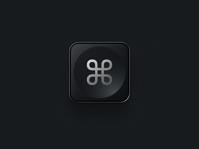 CMD V2 app icon icongraphy cmd command icon