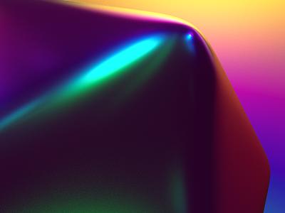 Iridescent metal gradient nft cinema4d c4d