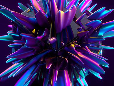 Creativity 3d render c4d 3d gradient colourful bold creative creativity art iridescent