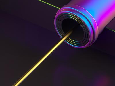 Inject irisdecent isometric motion graphics motion animation 3d c4d