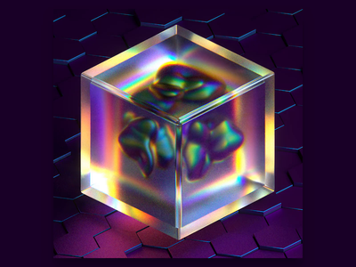 OD // 001 - Crystal Prison abstract animation motion motion graphics 3d cinema4d