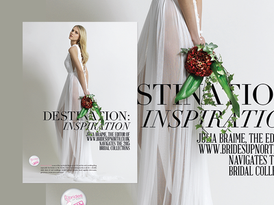 Fashion Editorial typography type editorial magazine unveiled magazine bridal