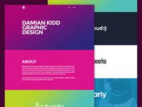 Damian Kidd - Website