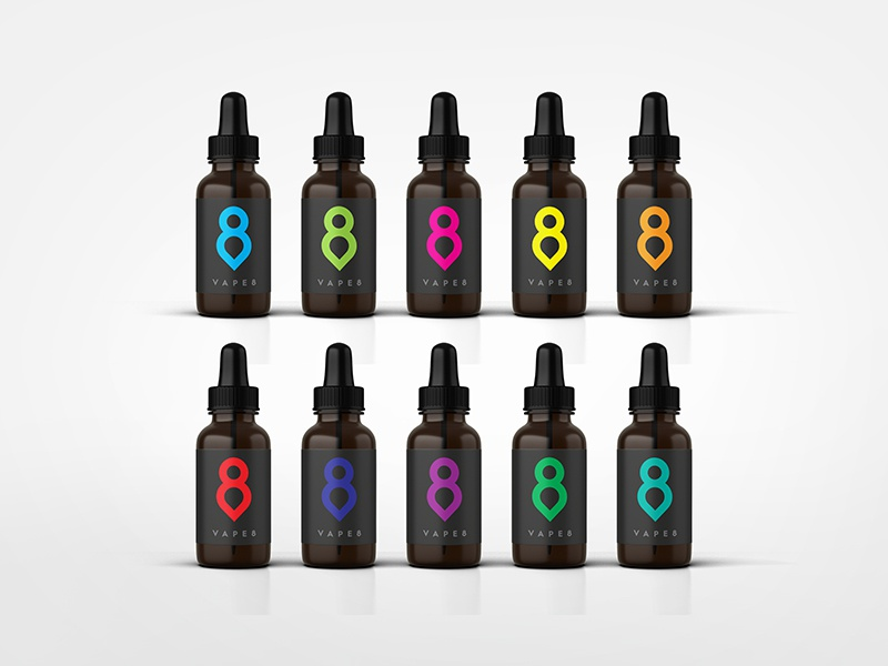Vape8 colours
