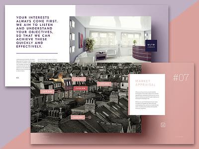 Brochure Design property house print estate agents brochure