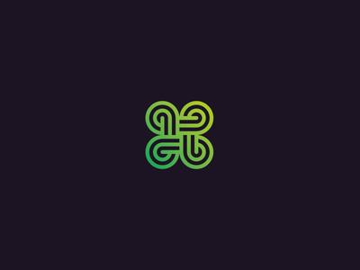 Command gradient cmd command infinity icon logo
