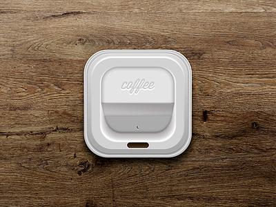 FREE COFFEE psd download free file skeuomorphism app icon icon realism skeuomorphic