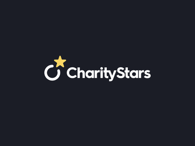 Charity Stars star branding identity logo sweepstake product design charity celebrities auction