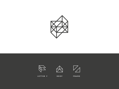 FRMEZ Concept logo branding identity architecture photographer architectural