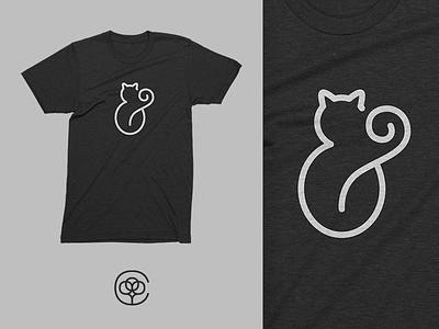 FAT C&T ampersand tshirt cotton bureau cat design t-shirt