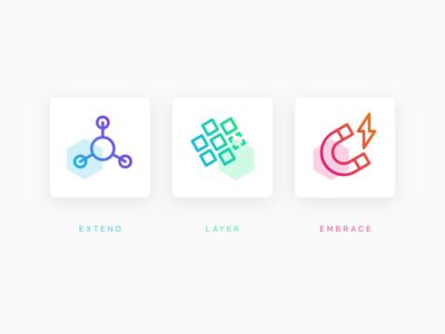 Hex-icons