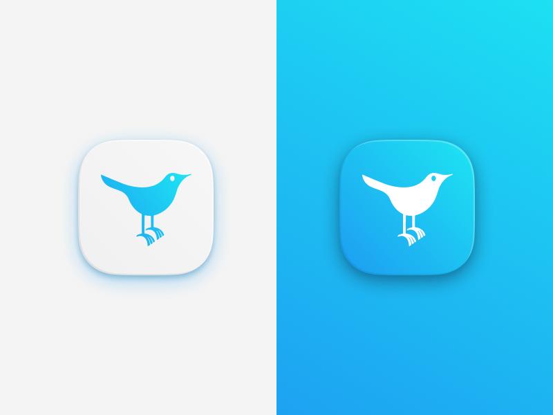 tweet tweet tweet bird icongraphy icon twitter simon oxley