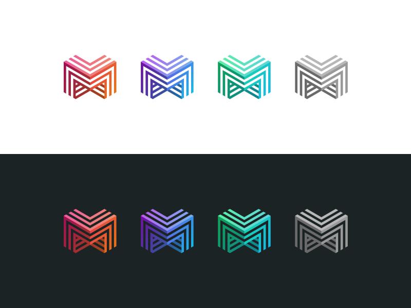 mmm triple m m identity branding logo