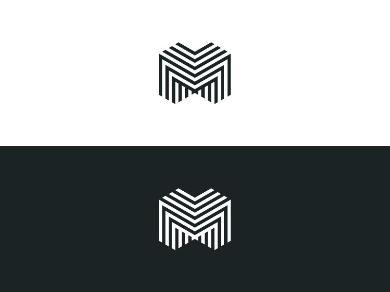 m3 triple m m identity branding logo