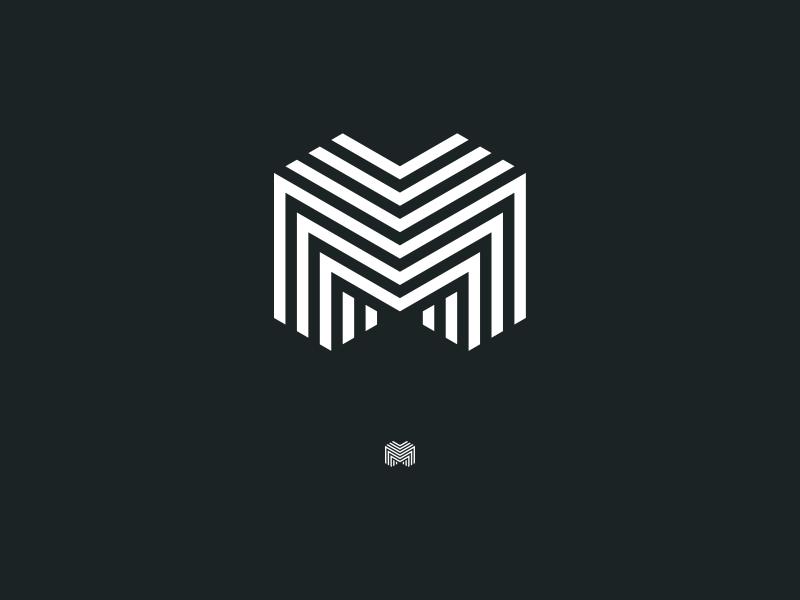 m4 triple m m identity branding logo
