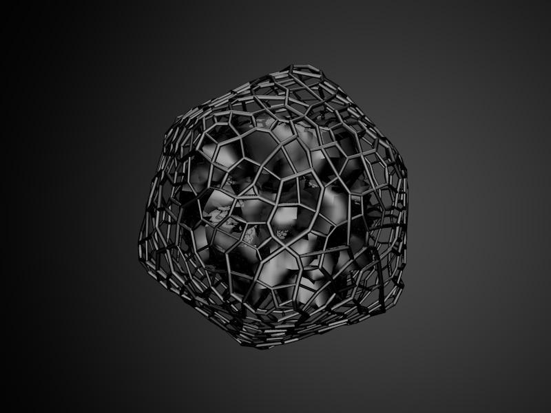 Dark & Mysterious design cinema4d art 2018 c4d gradient 3d abstract render