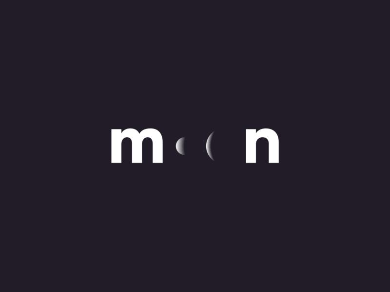 moon identity branding logo