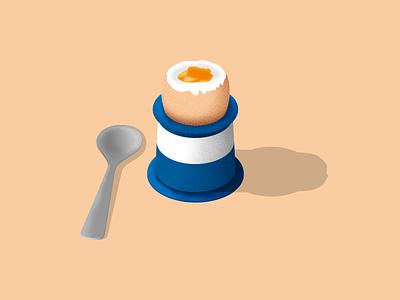 Egg and nee soldiers illustration egg inktober 2018 inktober