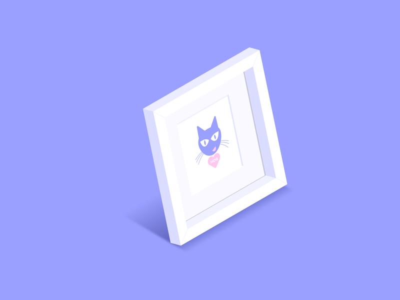 Mrs Goggins cat illustration illustration pussy cat moggy mog cat inktober 2018 inktober