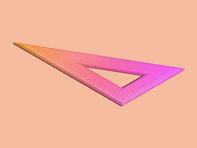 30-60-90 gradient isometric illustration isometric inktober 2018 inktober
